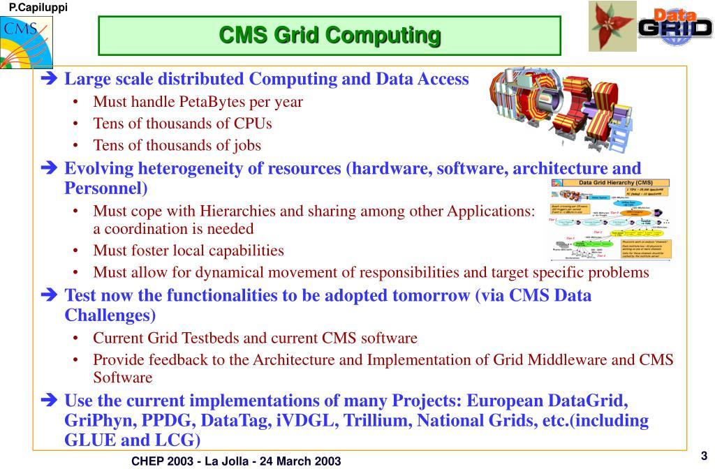 CMS Grid Computing