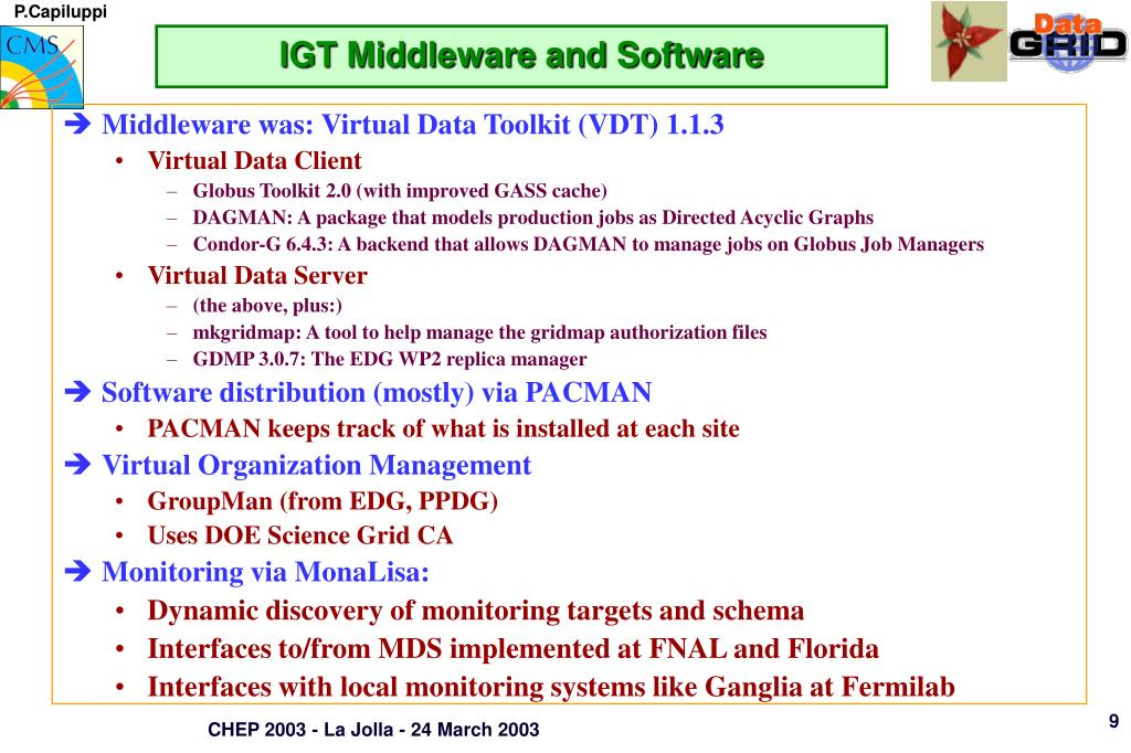 IGT Middleware and Software
