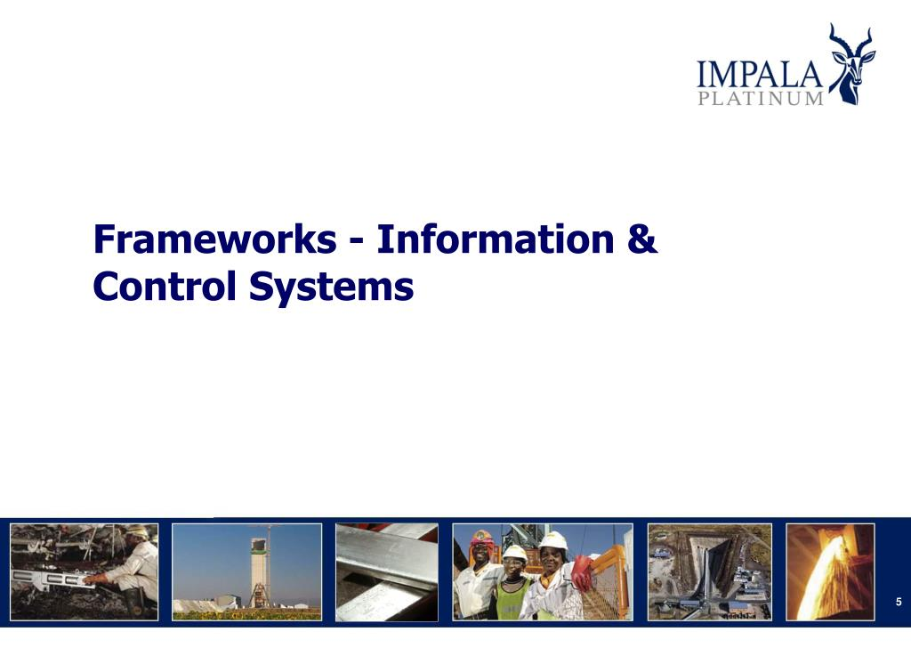 Frameworks - Information & Control Systems