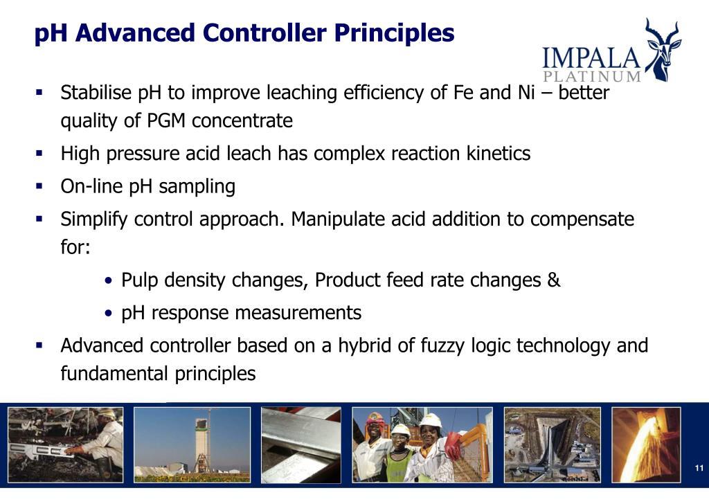 pH Advanced Controller Principles
