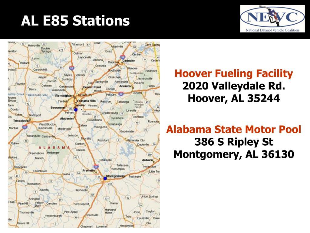 AL E85 Stations