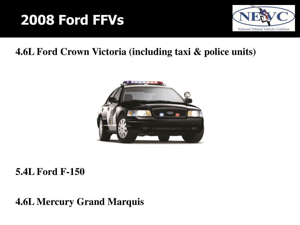 2008 Ford FFVs