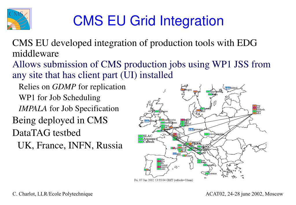 CMS EU Grid Integration