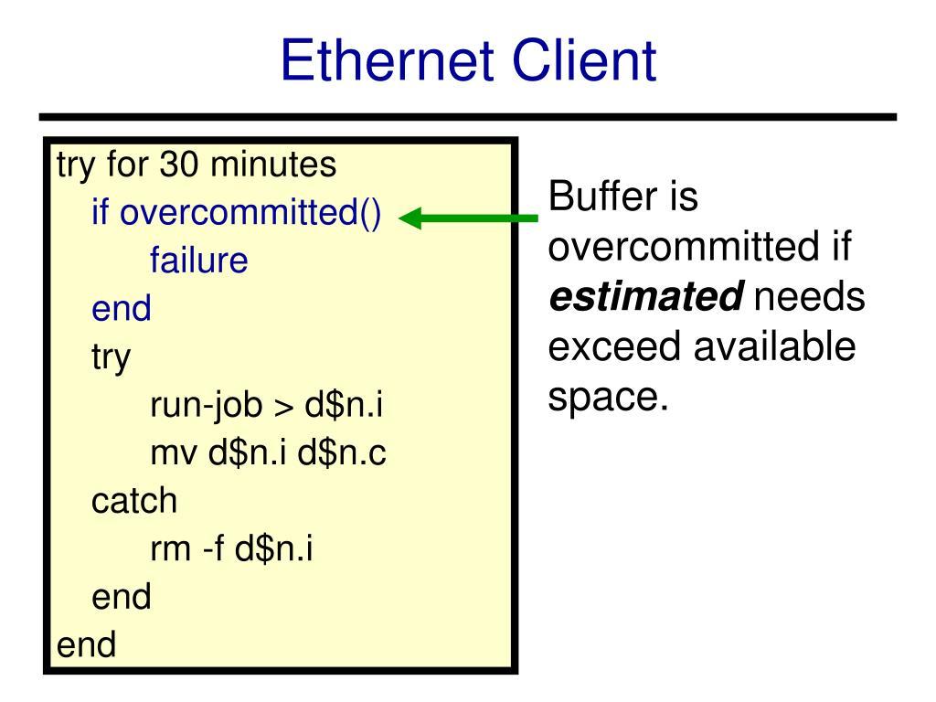 Ethernet Client