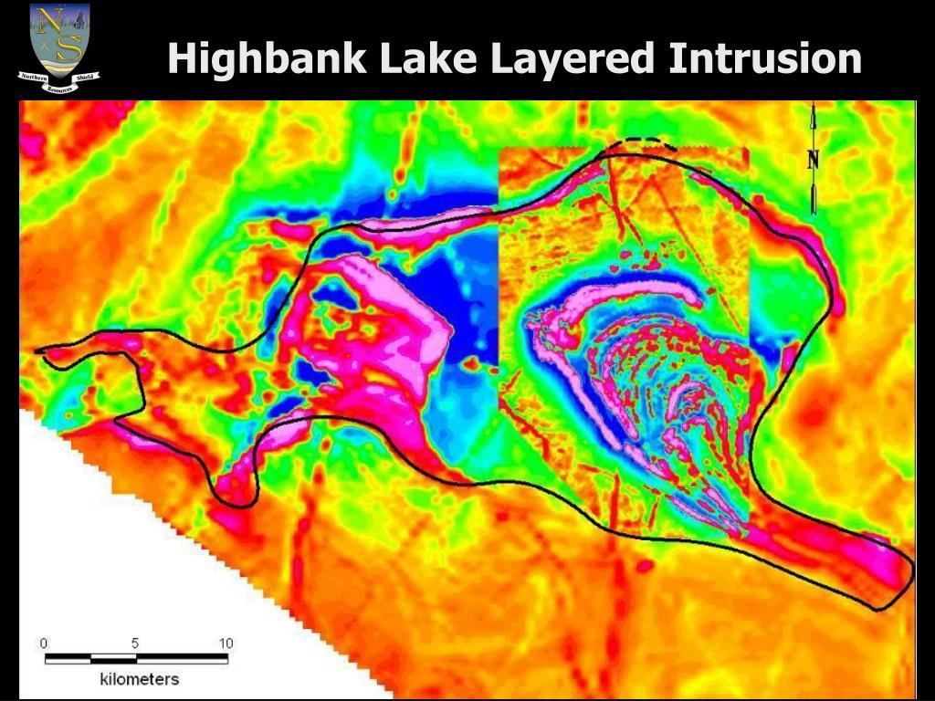 Highbank Lake Layered Intrusion