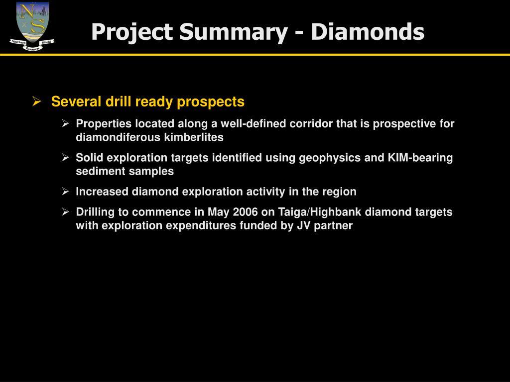 Project Summary - Diamonds
