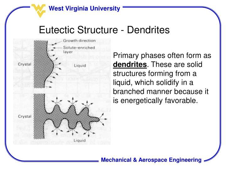 Eutectic Structure - Dendrites