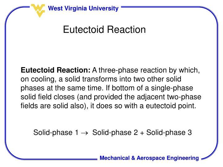 Eutectoid Reaction