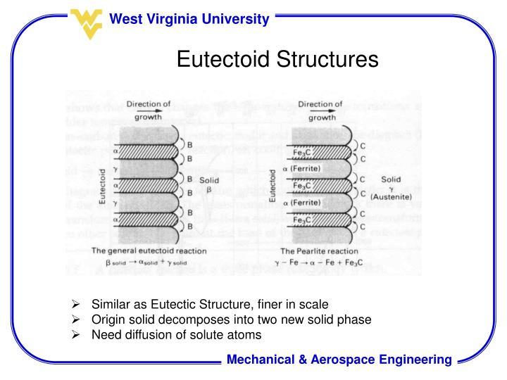 Eutectoid Structures