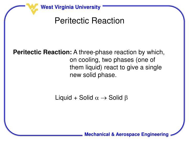 Peritectic Reaction