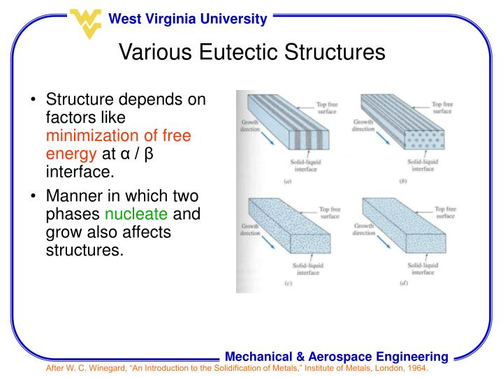 Structure depends on factors like