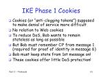 ike phase 1 cookies