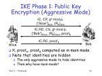 ike phase 1 public key encryption aggressive mode