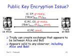 public key encryption issue103