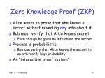 zero knowledge proof zkp