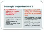 strategic objectives 4 5