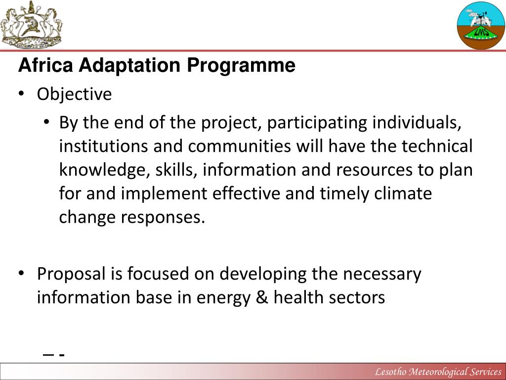 Africa Adaptation Programme