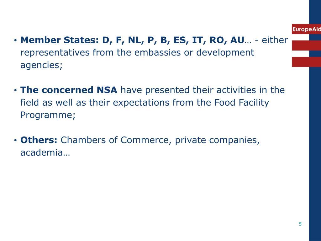 Member States: