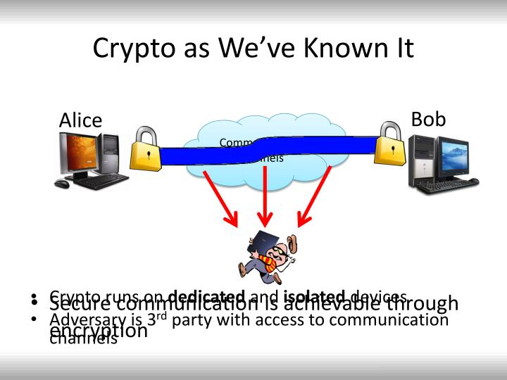 Crypto as we ve known it