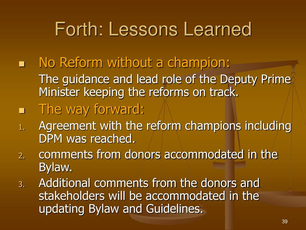 Forth: Lessons Learned