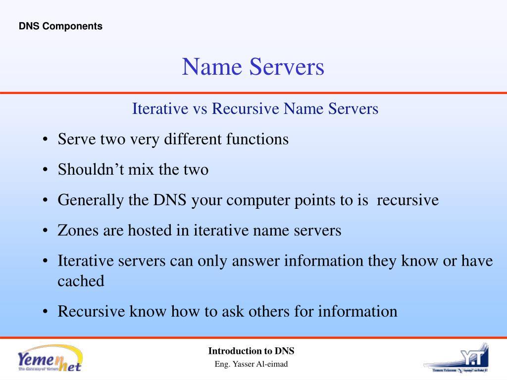 DNS Components