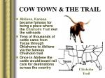 cow town the trail