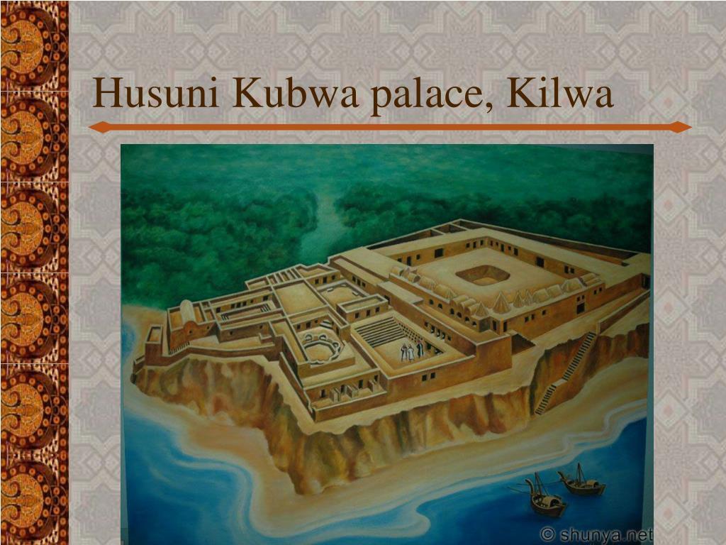 Husuni Kubwa palace, Kilwa