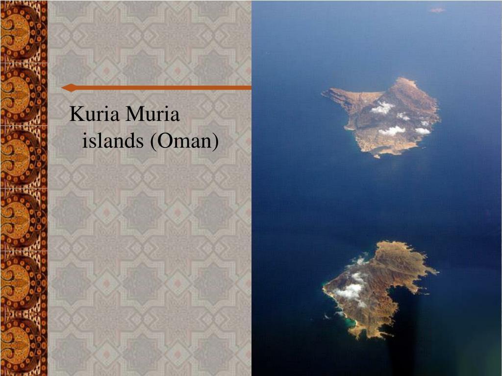 Kuria Muria islands (Oman)