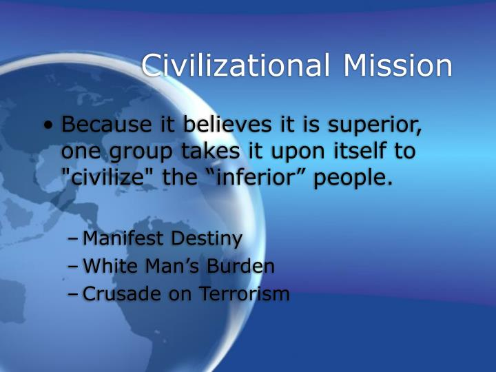 Civilizational Mission