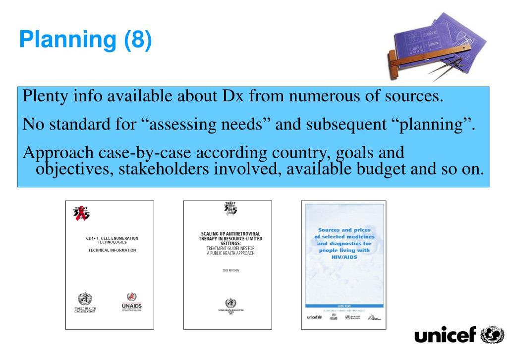 Planning (8)