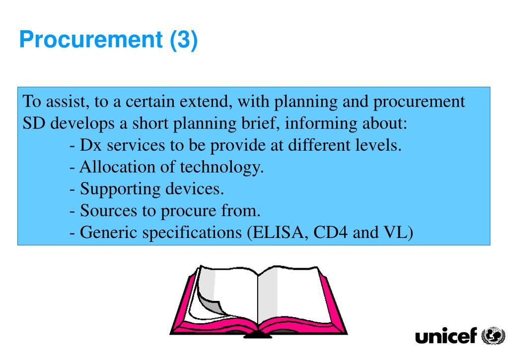 Procurement (3)