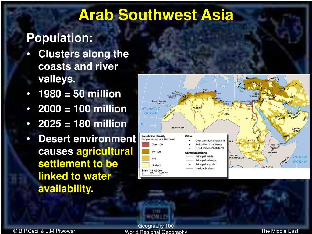 Arab Southwest Asia