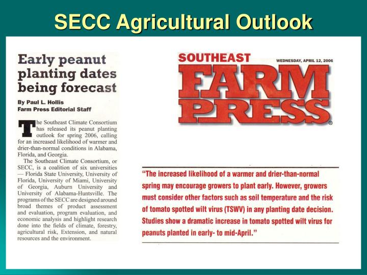 SECC Agricultural Outlook
