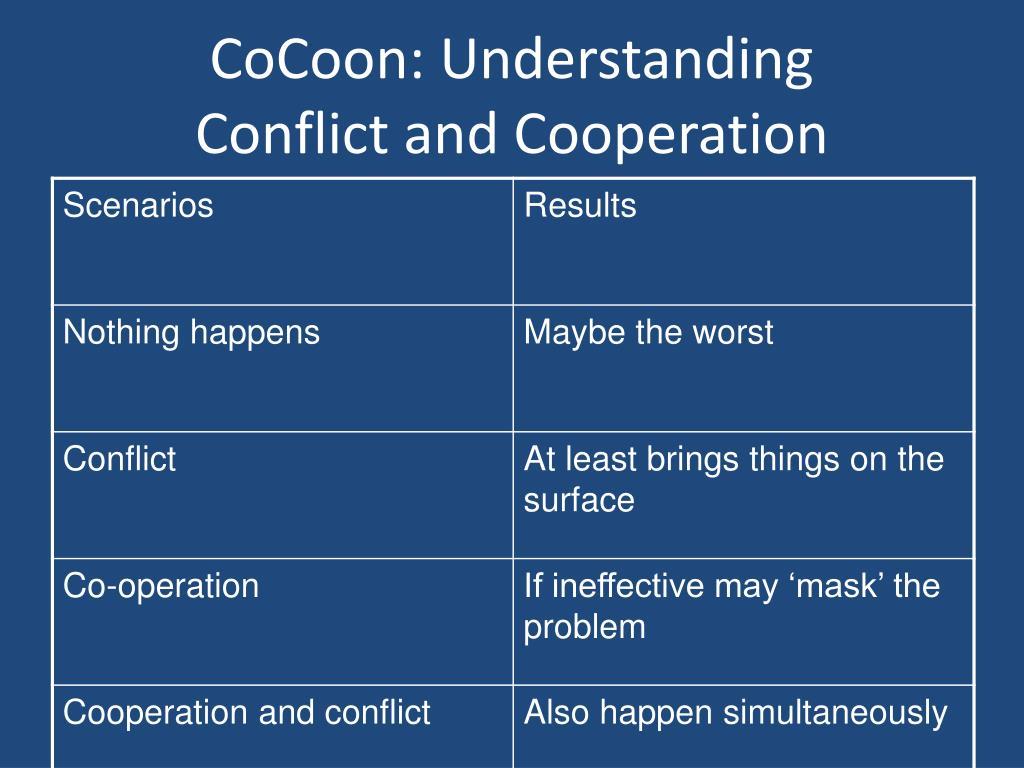 CoCoon: Understanding