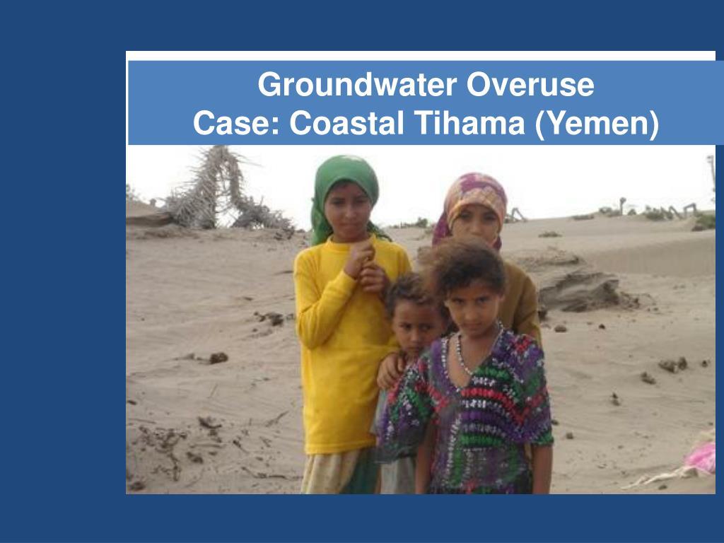 Groundwater Overuse