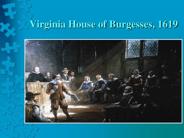 Virginia House of Burgesses, 1619