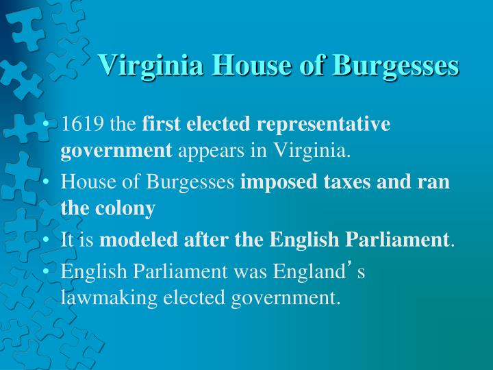Virginia House of Burgesses