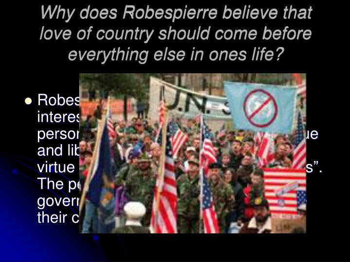 justification for the use of terror French revolution is a very dark period in my point of view i never knew that robespierre had justification for his use of terror i am sorry to be ignorant in this topic.