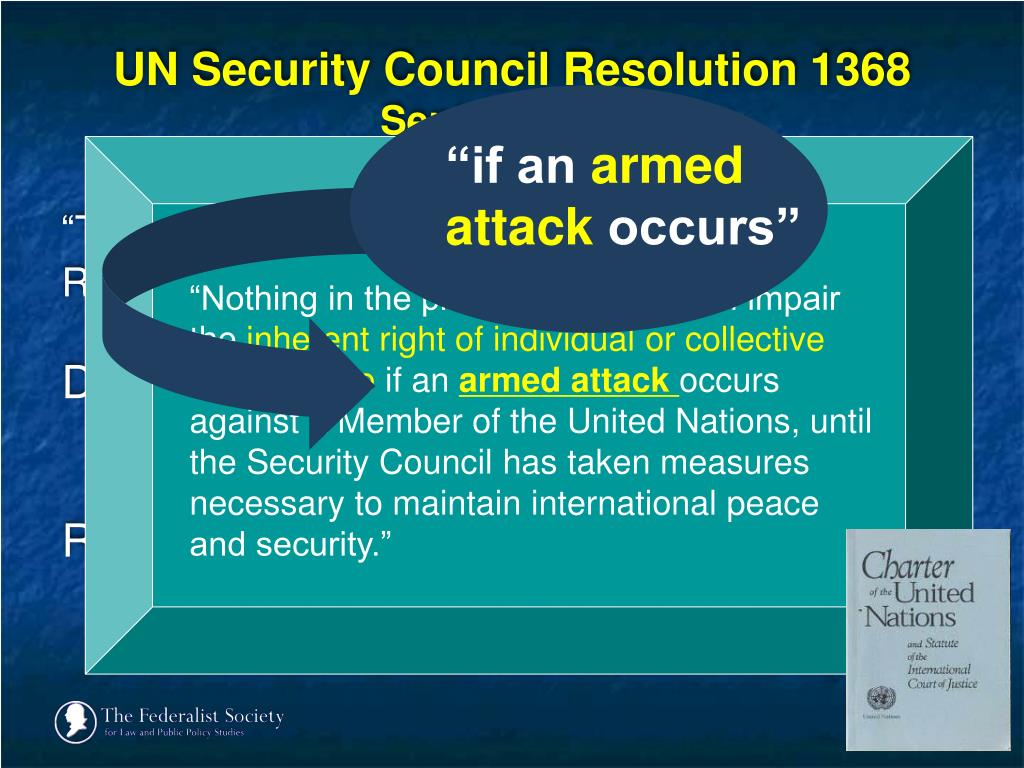 UN Security Council Resolution 1368