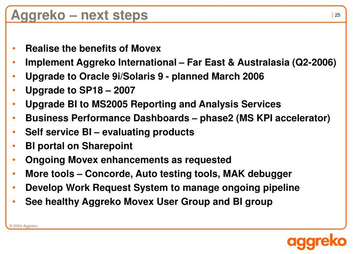 Aggreko – next steps