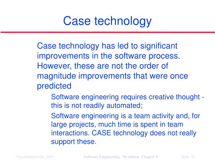 Case technology