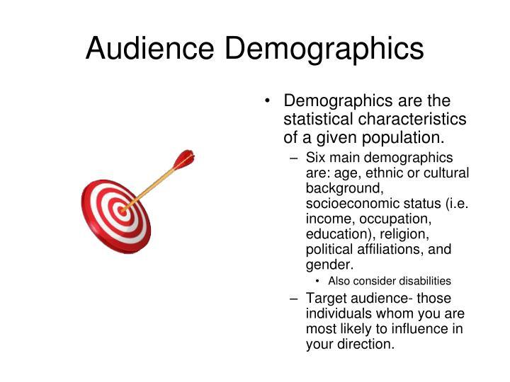 Audience Demographics