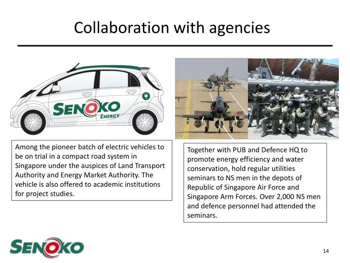 Collaboration with agencies