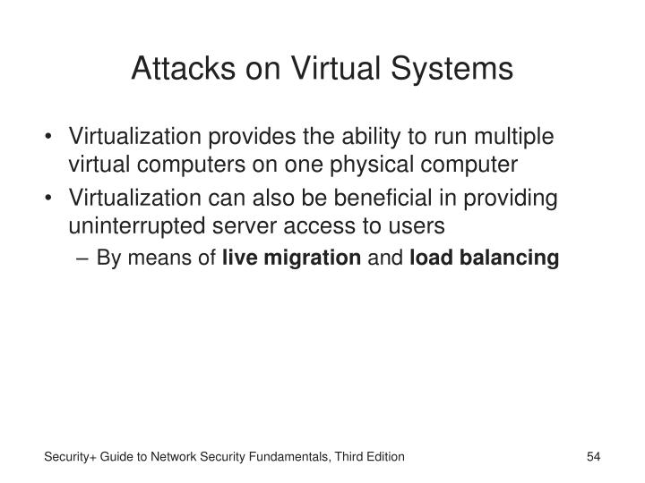 Attacks on Virtual Systems