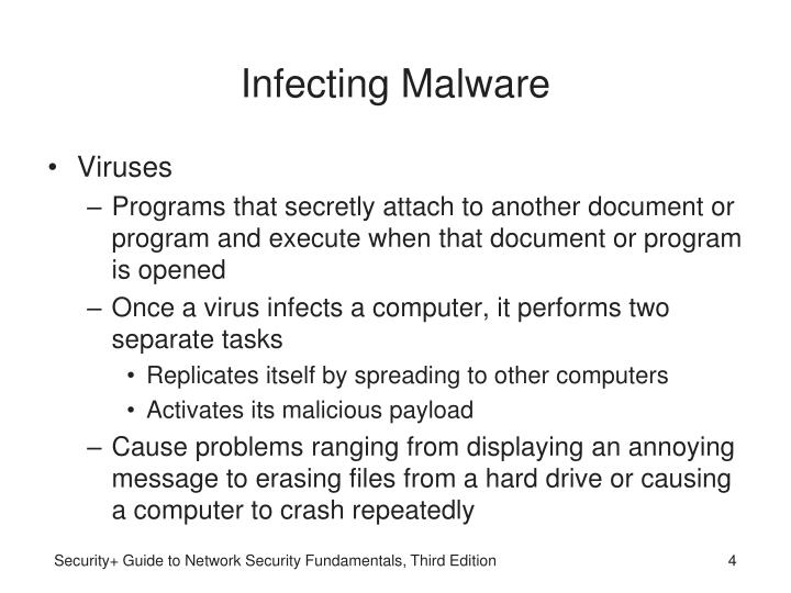 Infecting Malware
