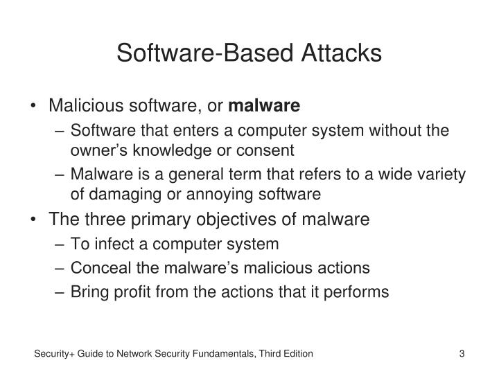 Software based attacks