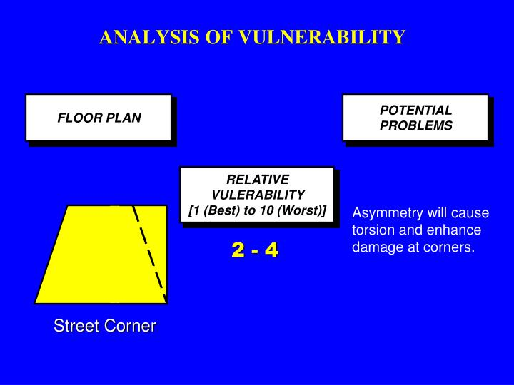 ANALYSIS OF VULNERABILITY