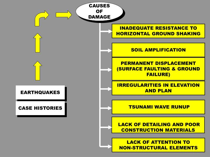 CAUSES OF DAMAGE