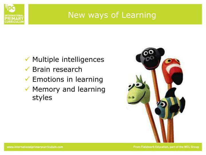 New ways of Learning