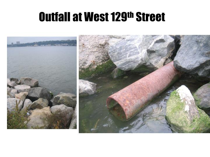 Outfall at West 129
